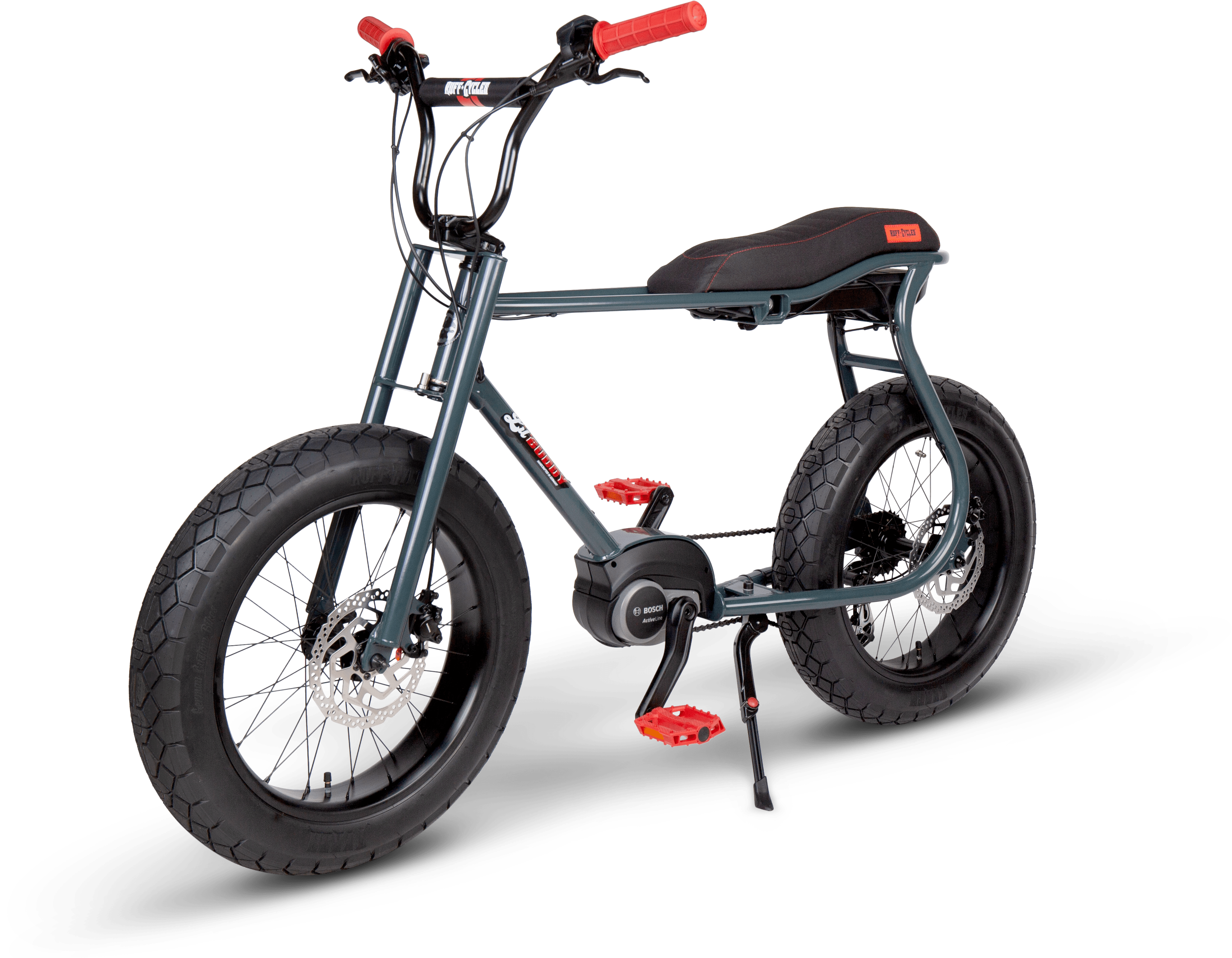 RUFF CYCLES Lil Buddy 2021 Anthracite - Angle Front-1