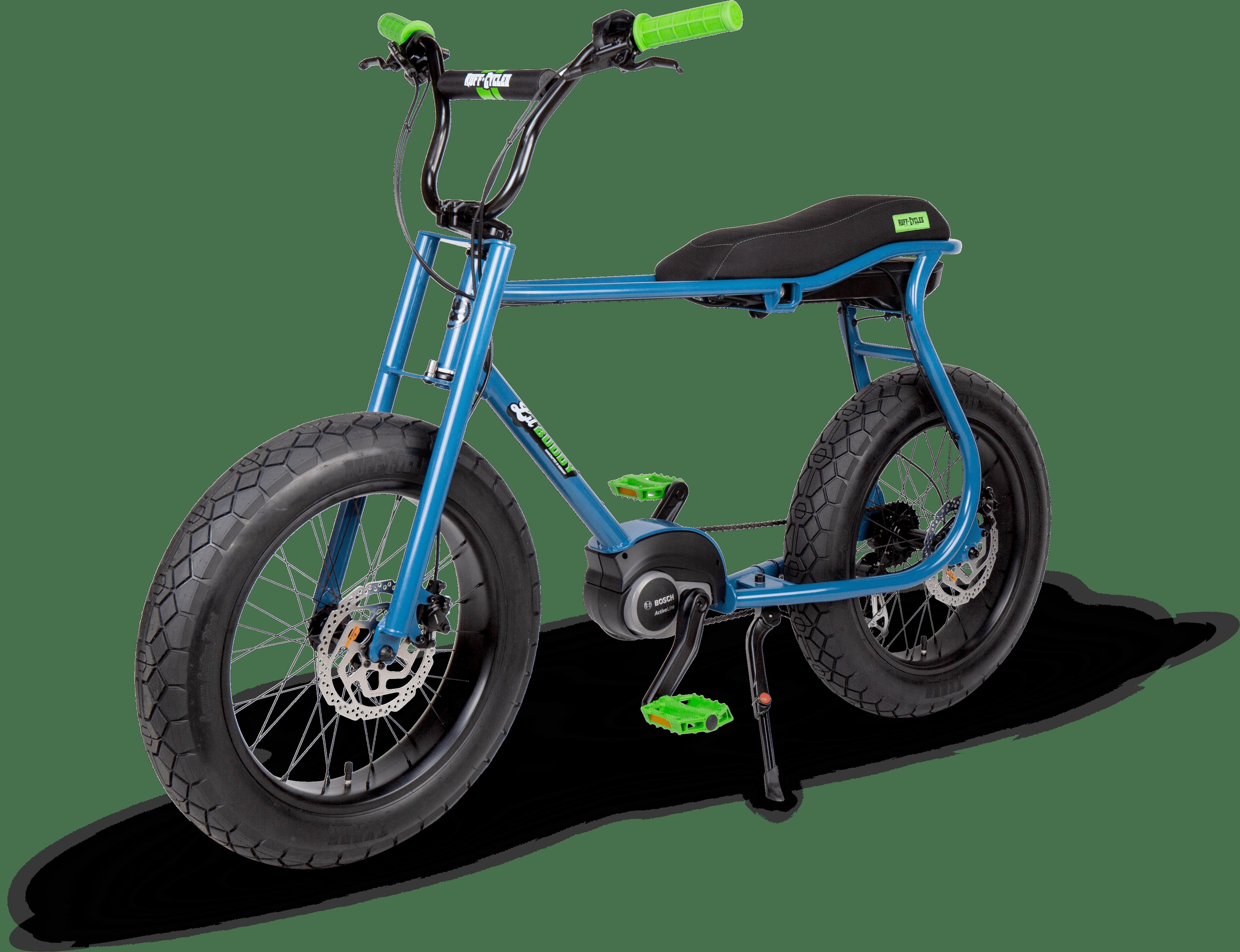 RUFF CYCLES Lil Buddy 2021 Azureblue - Angle Front-1