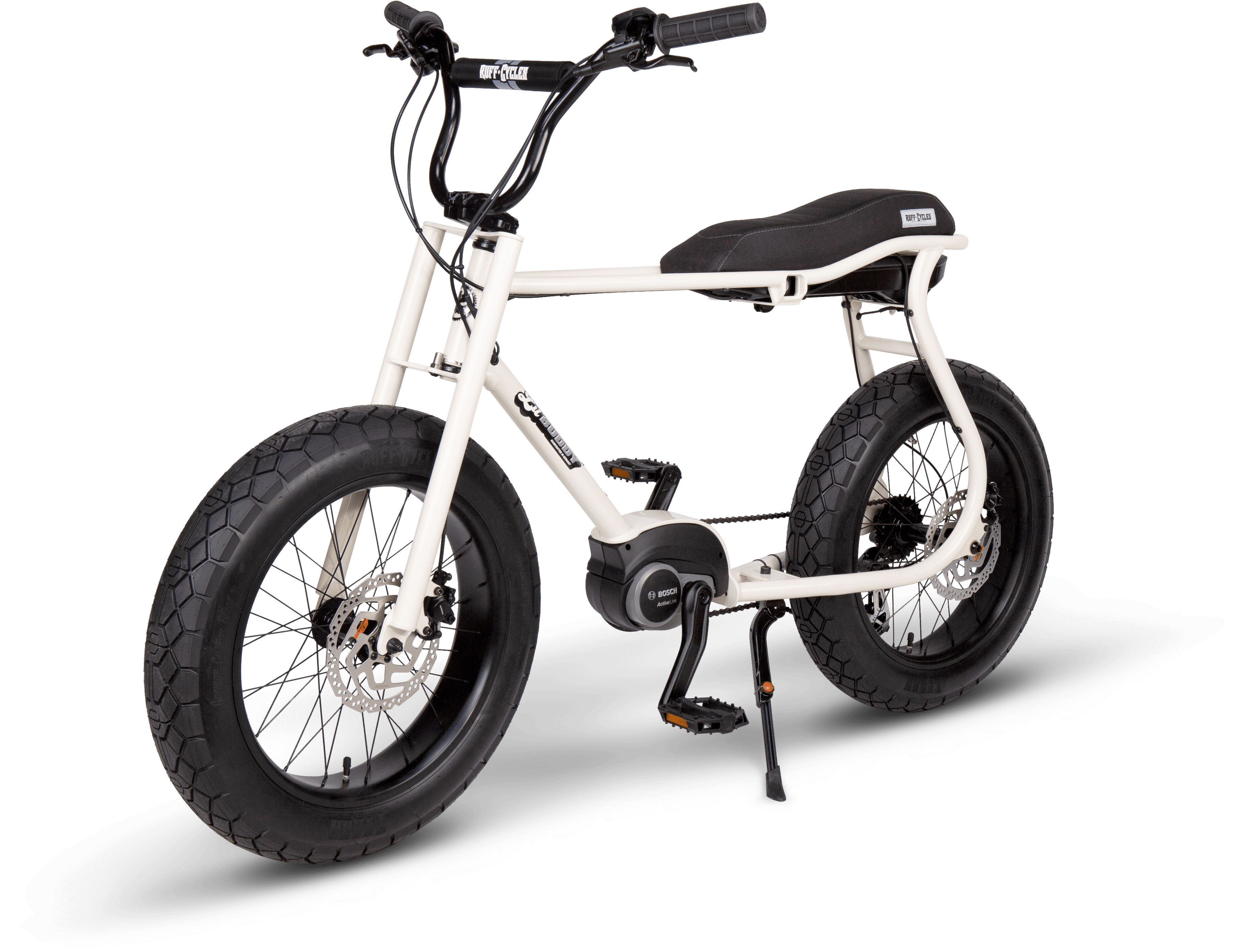 RUFF CYCLES Lil Buddy 2021 Pearlwhite - Angle Front