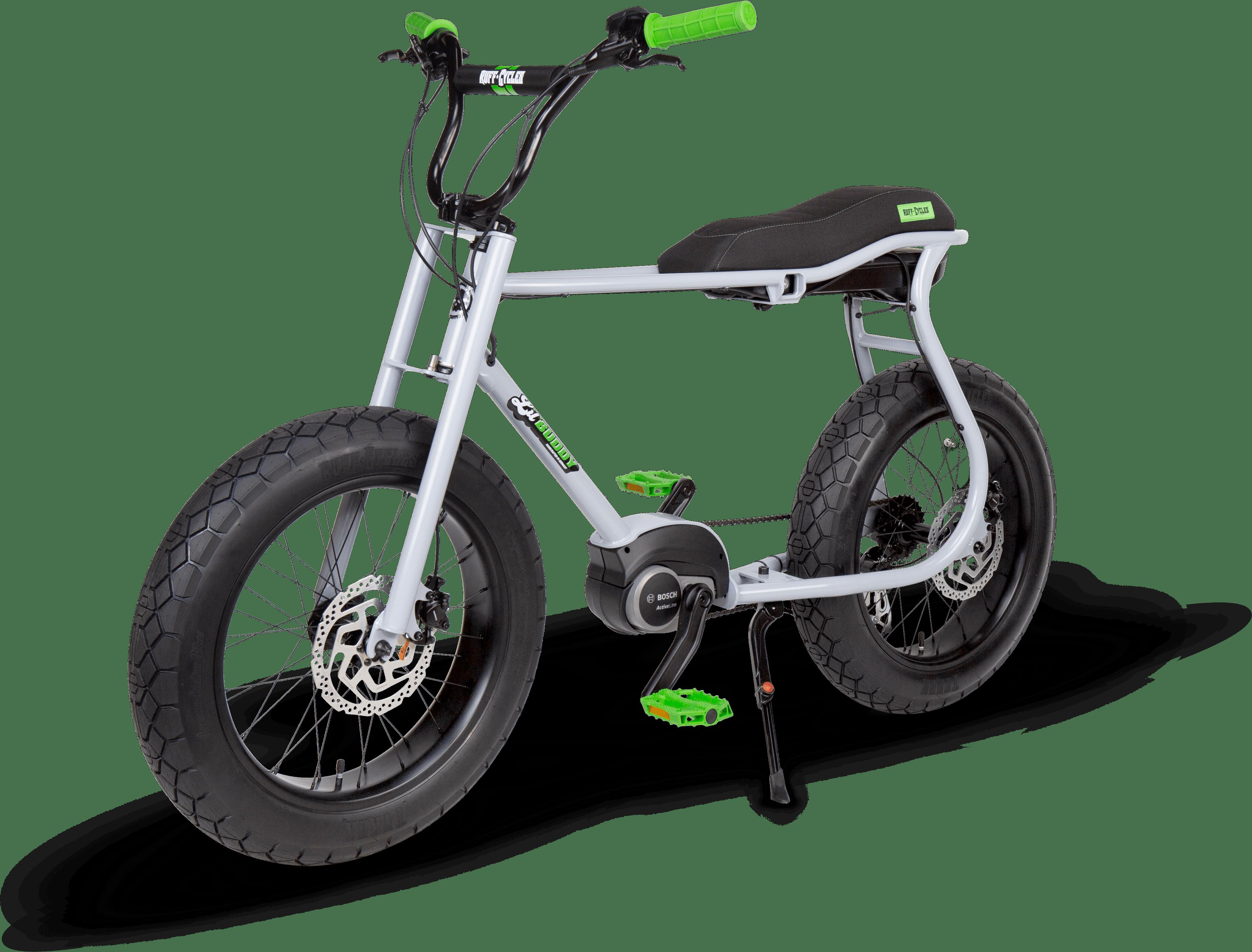 RUFF CYCLES Lil Buddy 2021 Silvergrey - Angle Front